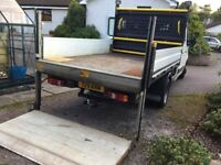 2012 Renault Master crewcab pickup with tail lift