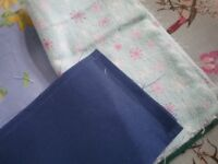 Fabric bundle for quilting or projects - blues