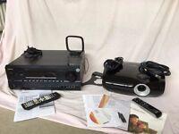 Home Cinema components. INFOCUS projector and ONKYO AV Receiver.