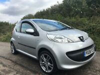 PEUGEOT 107 URBAN MOVE SPECIAL EDITION WITH LOW MILEAGE