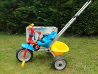 Berchet/Smoby Baby Traveller Smart Trike