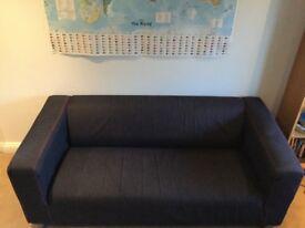 Ikea klippan sofa three seater.
