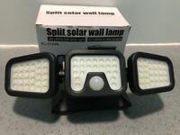 Split solar wall lamp (VERY BRIGHT)