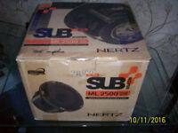 Hertz Mille ML2500 10 inch Subwoofer,4 Pioneer Focal,Audison,Alpine,DLS,Jbl,Vibe