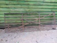 Antique vintage field gate 9 foot x 41 inches