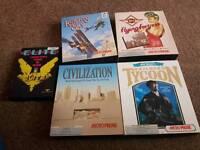 Amiga games. All complete
