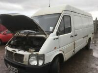 Volkswagen lt 35 lwb 2.5 2.5 tdi spare parts available