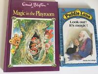 Enid blyton magic in the playroom and ladybird puddle lane book children