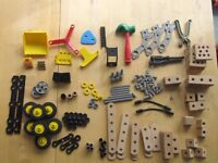 brio builder system- 2 sets with tools. excellent condition hardly used