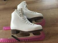 2 pairs of ice skates