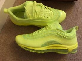Size 7.5 air max 97's - new