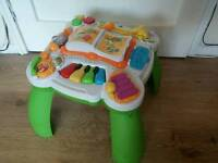 LeapFrog Learn and Groove Table - Teal.
