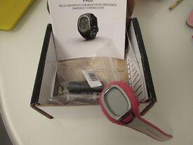 Pink Garmin sport watch in excellent condition