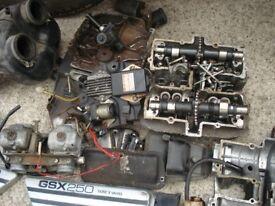PROJECT SUZUKI GSX 250cc 1980 W REG