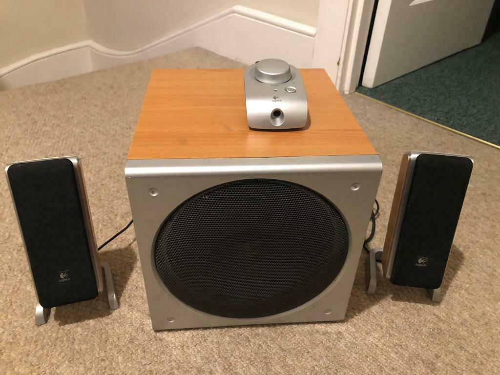 8f33731d7de Logitech Z3 computer speaker system | in Kingston, London | Gumtree