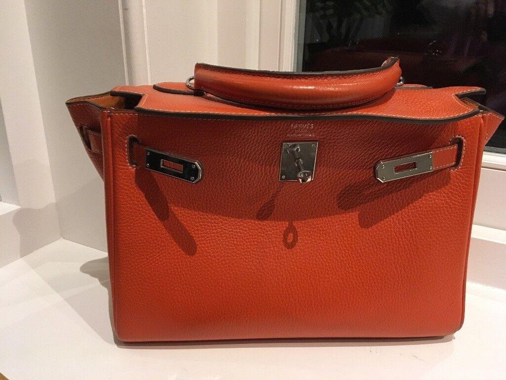 Orange Hermes Bag