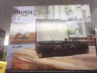 Bush classic portable turntable brand new