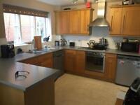 Complete Oak shaker kitchen for sale (dishwasher, fridge, microwave)