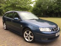 2007 Saab 9-3 1.9 TiD Vector SportWagon new 12 months mot cheap to run and insure 50+ mpg