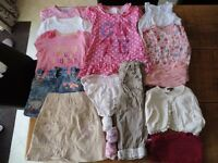 2-3 Years Girls Summer Clothes Bundle (17 items) Set B