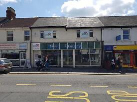 Retail unit to let in Commercial Road, 1700 sq ft.