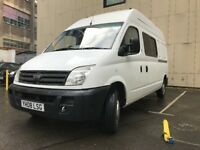 LDV MAXUS 9 SEAT CREWCAB - CONVERTED BAND/RACE/TOUR VAN - NO VAT!