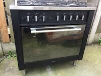 Indesit gas and electric range Cooker 90cm