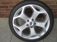 1x ford focus st alloy wheel tyre are rim brand new
