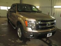 2013 Ford F-150 XLT 4x4 SuperCab 145 in