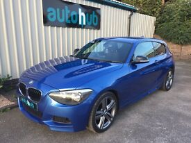 2013 62 BMW 120D M SPORT AUTO 3 DOOR HATCHBACK *FULL BMW HISTORY*