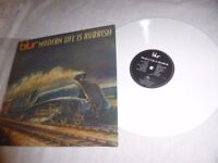 "BLUR RARE WHITE VINYL LP-"" MODERN LIFE IS RUBBISH""-FOODLP9"