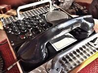Steam Punk Retro Styled Landline Telephone