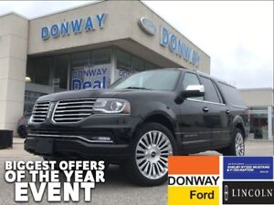 2016 Lincoln Navigator L | 4X4 | 2ND ROW CONSOLE | LEATHER