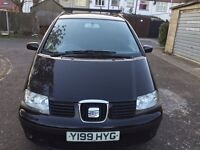 2001 Seat Alhambra 1.9 TDI PD SE 5dr(7 seat) HPI Clear 1 Owner from 2003 @07445775115@ 07725982426@