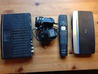 BT Youview HD box and Home Hub £60 ONO