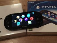 PS Vita with Preloaded Little Big Planet and Lego Marvel Superheroes Game Card