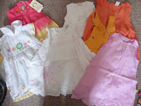 Summer clothes for girl 12-18 mths