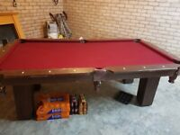 7ft x 4ft American style pool table