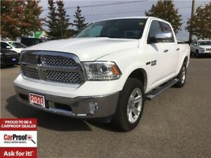 2016 Ram 1500 LARAMIE**POWER SUNROOF**NAVIGATION**3.0L DIESEL**