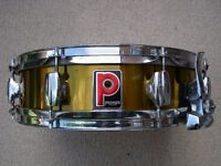 "Premier model 2024 Limited Edition alloy snare drum 14 x 4"" - '80s - Gold lacquer"