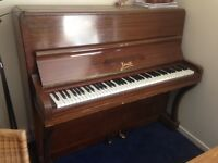 Basic upright piano.