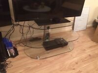 For Sale: Glass TV Stand for £20