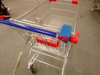 10 BRAND NEW SHOPPING TROLLEYS. UNBRANDED READY FOR YOU £600