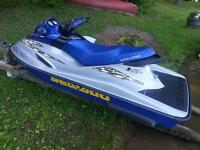 MINT 2002 RXDI SEADOO with trailer
