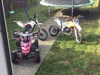 800w quad