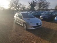 2003 Peugeot 206 1.4 1 Years MOT Service History Cheap Car