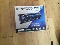 Kenwood Head Unit KDC-BT39DAB DAB+, Bluetooth, USB, iPhone, iPod Radio