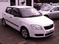 2010 SKODA FABIA HTP 1198cc 12 MONTHS M.O.T 6 MONTHS WARRANTY (FINANCE AVAILABLE)