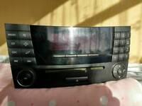 Mercedes w211 e class CD player