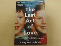 The Last Act of Love - Cathy Rentzenbrink - Paperback Book